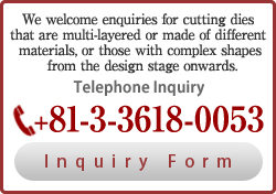 Telephone Inquiry03-3618-0053<Inquiry Form>